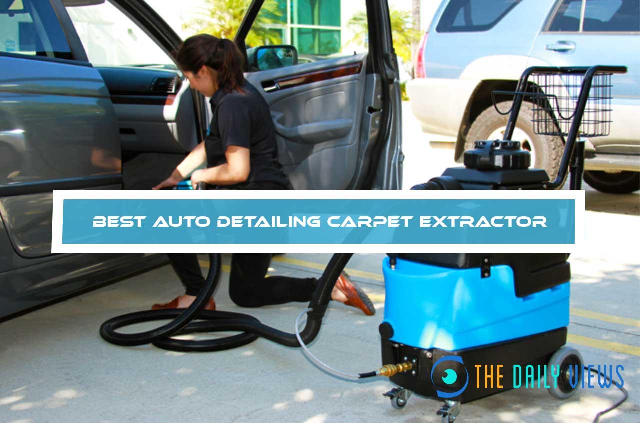 Best Auto Detailing Carpet Extractor